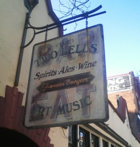 Two Bells Tavern Sign