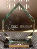 TSIA STAR Award Trophy