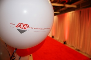 ADP red carpet balloon