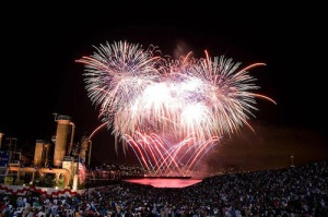 Fireworks at Lake Union