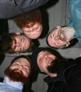 5 Bearded Men
